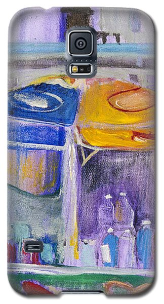 Hot Dogs  Galaxy S5 Case by Leela Payne