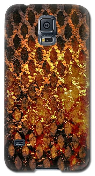 Galaxy S5 Case featuring the digital art Hot Grill by Darla Wood