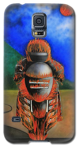 Hot Moto Galaxy S5 Case by Tim Mullaney