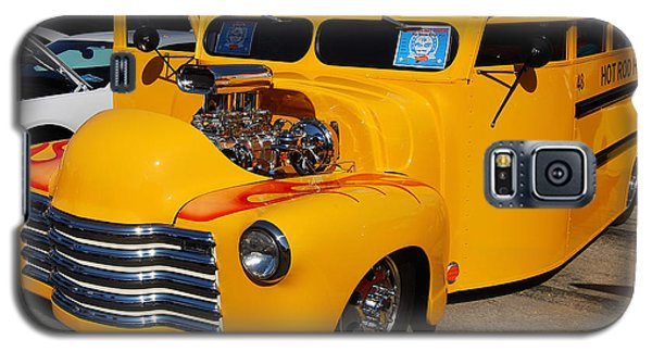 Hot Rod School Bus Galaxy S5 Case