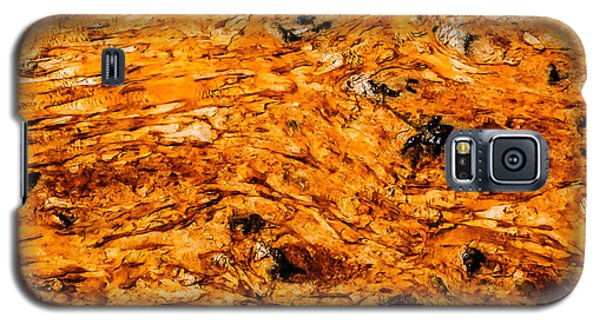 Hot Spring Abstract  Lan 800 Galaxy S5 Case