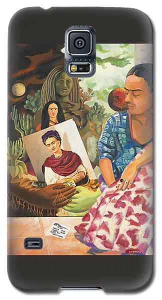 Hot Ticket Frida Kahlo Meta Portrait Galaxy S5 Case