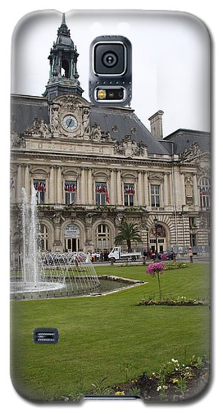 Hotel De Ville - Tours Galaxy S5 Case by Christiane Schulze Art And Photography