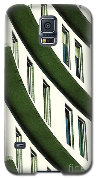 Galaxy S5 Case featuring the photograph Hotel Ledges Of A New Orleans Louisiana Hotel by Michael Hoard