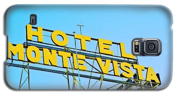 Hotel Monte Vista Galaxy S5 Case