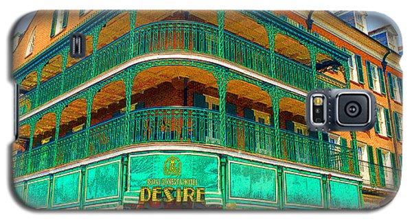 Hotel On Bourbon Street New Orleans Louisiana Galaxy S5 Case
