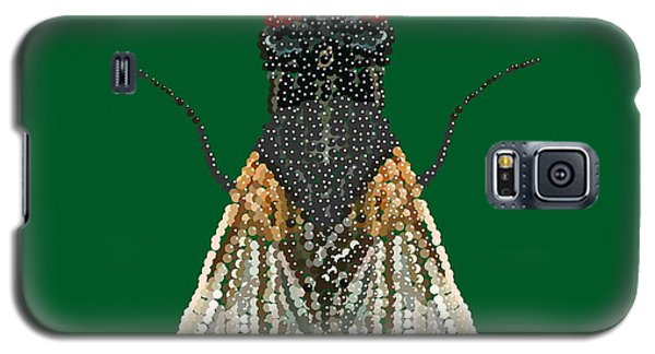 House Fly In Green Galaxy S5 Case