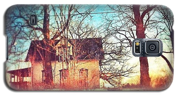 House Galaxy S5 Case - #house #home #old #farm #abandoned by Jill Battaglia