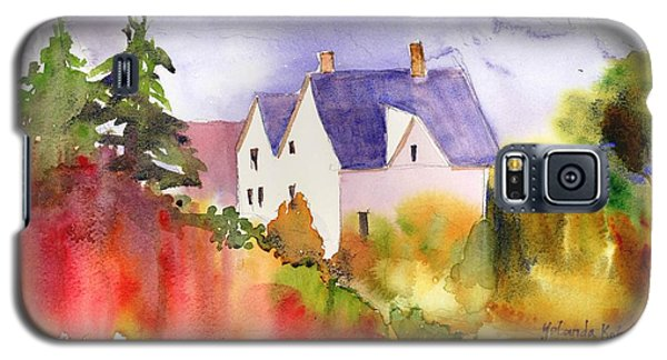 House In The Country Galaxy S5 Case by Yolanda Koh
