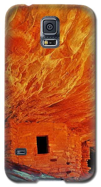 House On Fire Galaxy S5 Case