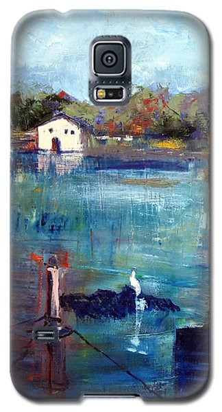 Houseboat Shadows Galaxy S5 Case