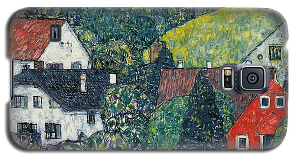 Town Galaxy S5 Case - Houses At Unterach On The Attersee by Gustav Klimt