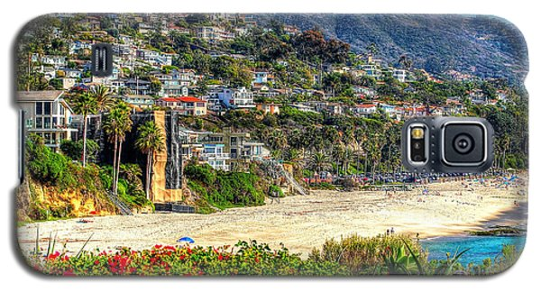 Galaxy S5 Case featuring the photograph Houses By The Sea by Kevin Ashley