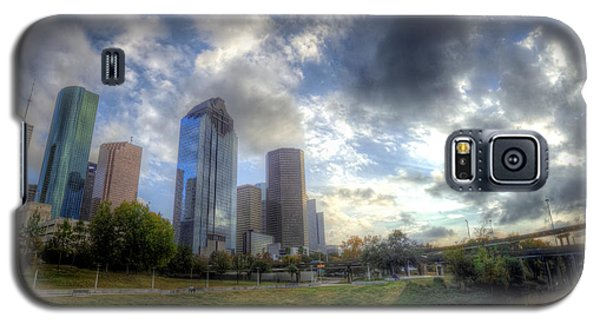 Houston Galaxy S5 Case by Micah Goff