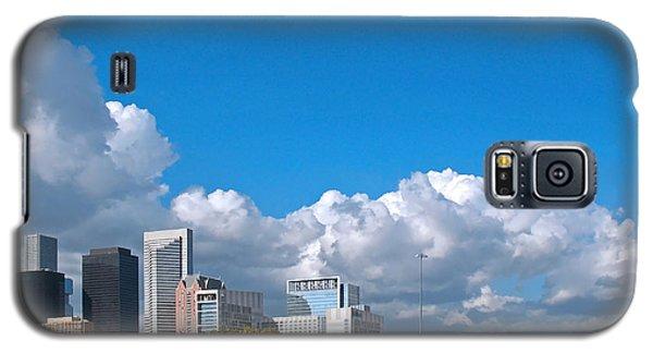 Houston Skyline Southeast Galaxy S5 Case