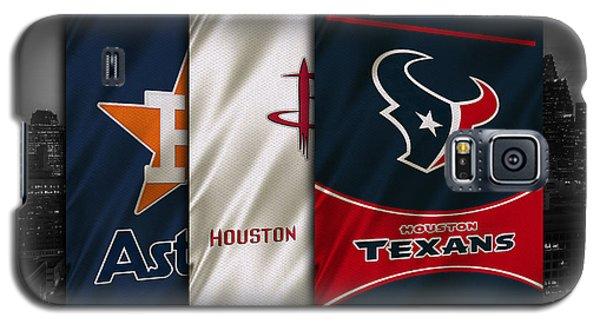 Houston Sports Teams Galaxy S5 Case by Joe Hamilton