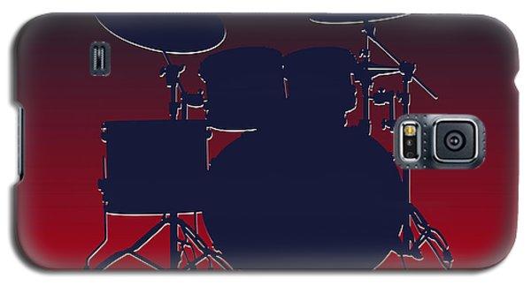 Houston Texans Drum Set Galaxy S5 Case by Joe Hamilton