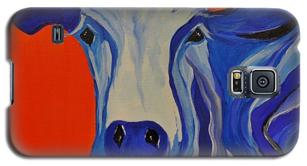 How Now Blue Cow Galaxy S5 Case