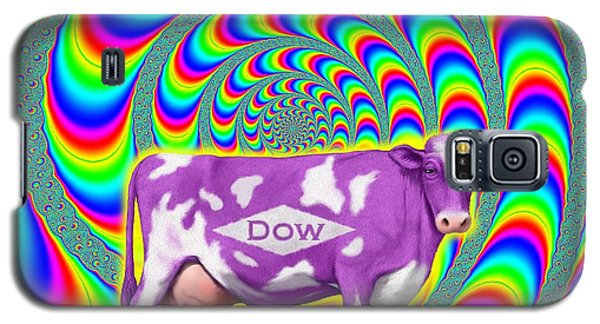 Galaxy S5 Case featuring the digital art How Now Dow Cow? by Scott Ross