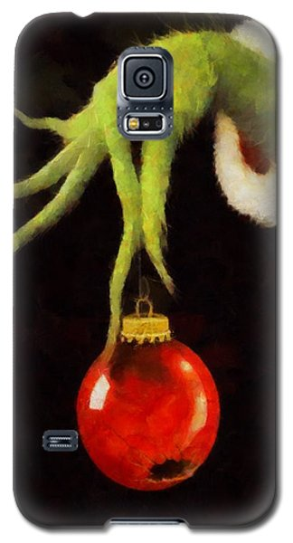 How The Grinch Stole Christmas Galaxy S5 Case