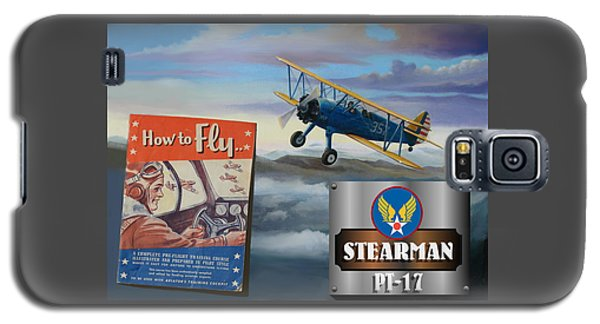 How To Fly Stearman Pt-17 Galaxy S5 Case
