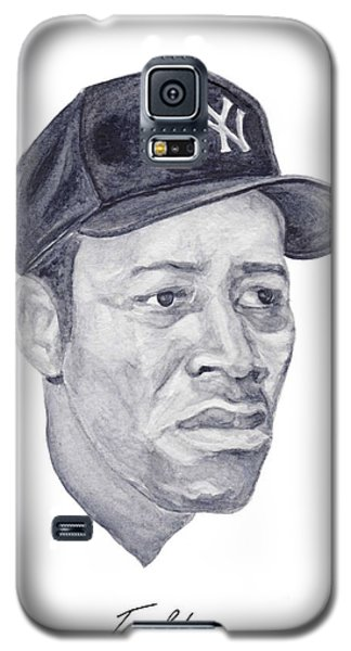 Galaxy S5 Case featuring the painting Howard by Tamir Barkan