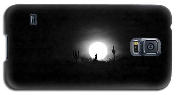 Howling At The Moon Galaxy S5 Case by Anne Mott