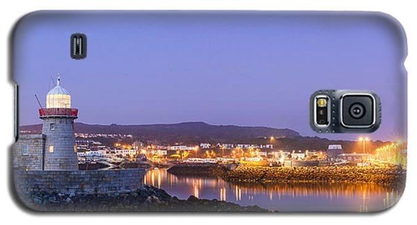 Howth Harbour Lighthouse Galaxy S5 Case by Semmick Photo