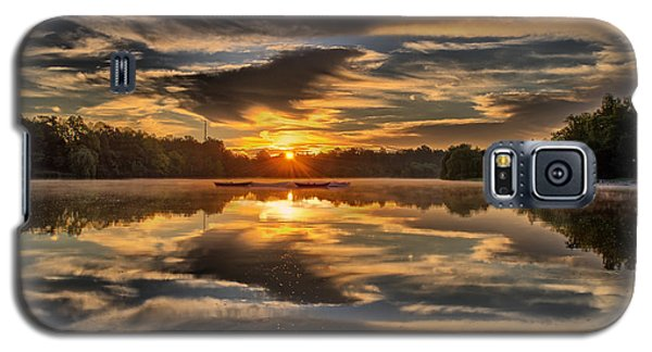 Hoyt Lake Sunrise Galaxy S5 Case