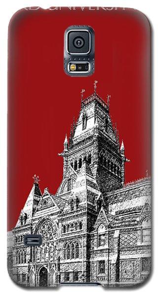 Harvard University - Memorial Hall - Dark Red Galaxy S5 Case by DB Artist