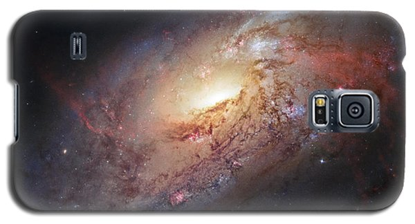 Hubble View Of M 106 Galaxy S5 Case