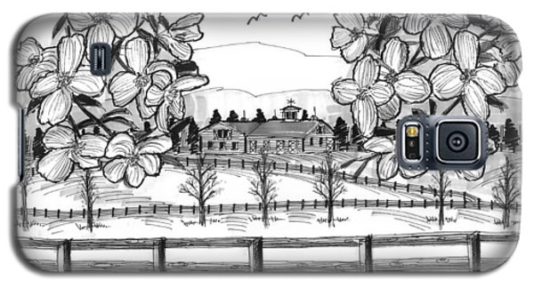 Hudson Valley Apple Blossoms Galaxy S5 Case