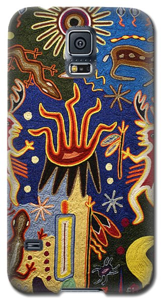 Huichol Yarn Painting Mexico Galaxy S5 Case