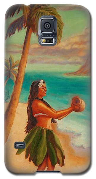 Hula Aloha Galaxy S5 Case by Janet McDonald
