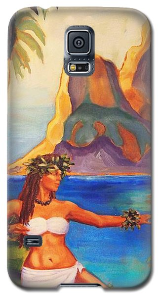 Hula Glow Galaxy S5 Case by Janet McDonald