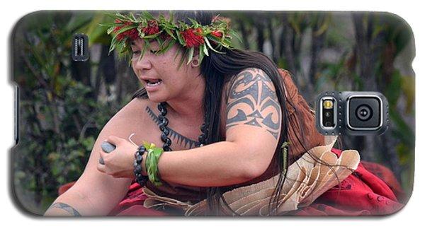 Hula Woman Galaxy S5 Case