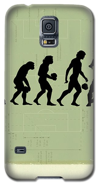 Soccer Galaxy S5 Case - Human Evolution by Smetek