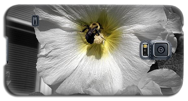 Galaxy S5 Case featuring the photograph Humble Bumblebee by Deborah Fay