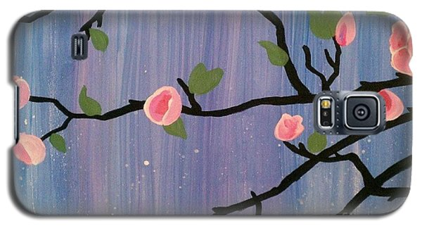 Galaxy S5 Case featuring the painting Humble Splash by Marisela Mungia