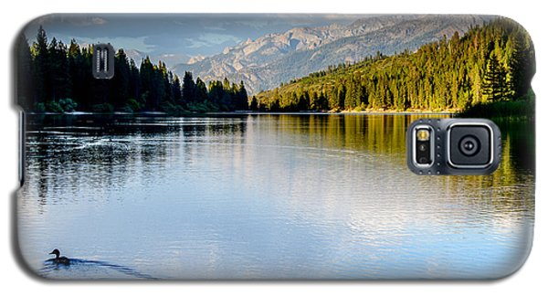 Hume Lake Evening Galaxy S5 Case by Terry Garvin