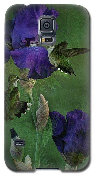 Hummingbird Gathering Galaxy S5 Case