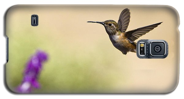 Galaxy S5 Case featuring the photograph Hummingbird In Flight by David Millenheft