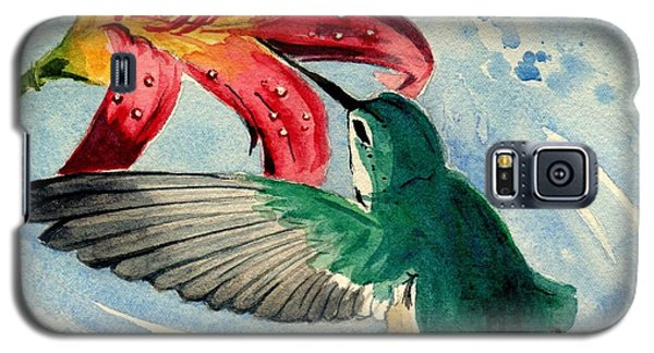 Hummingbird Galaxy S5 Case by Melly Terpening