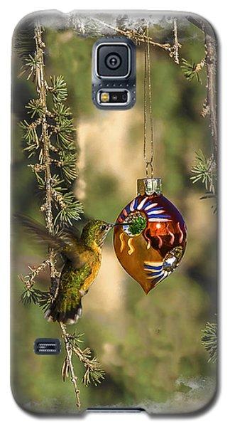 Hummingbird Ornament Galaxy S5 Case