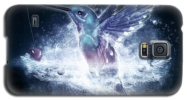 Hummingbird Print Galaxy S5 Case