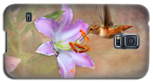 Galaxy S5 Case featuring the photograph Hummingbird Sweets by Mary Timman