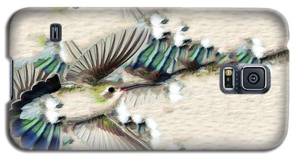 Hummingbird With Happy Feet Galaxy S5 Case