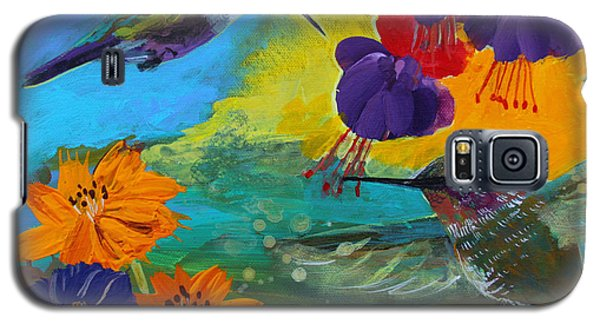 Hummingbirds Prayer Warriors Galaxy S5 Case