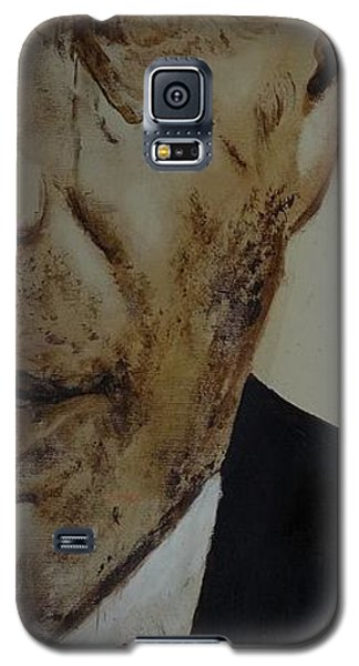 Galaxy S5 Case featuring the painting Humphrey  Bogart #2 by Eric Dee