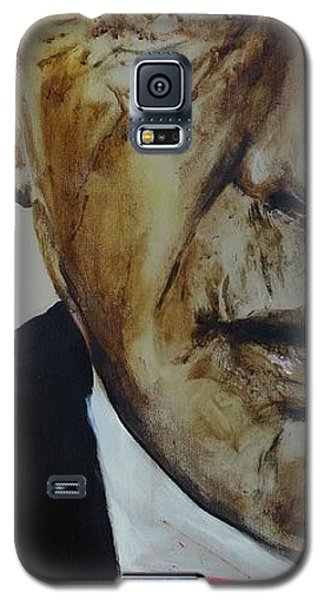 Galaxy S5 Case featuring the painting Humphrey Bogart #3 by Eric Dee